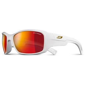 Julbo Rookie Spectron 3CF Gafas de sol 8-12Años Niños, shiny white-multilayer red